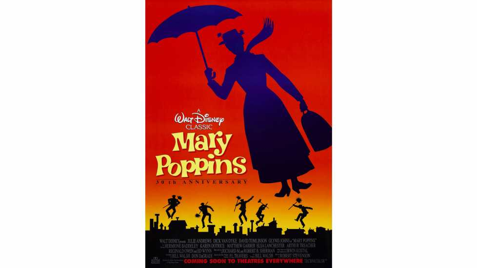 MARY POPPINS, US poster, 1964.
