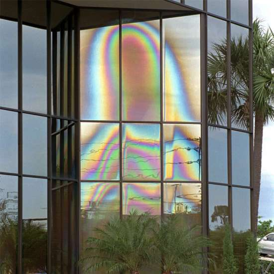 The Virgin Mary windows in Clearwater, Florida