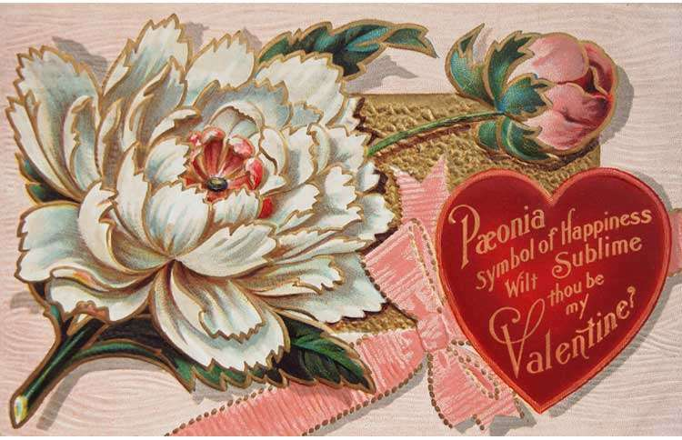 Guideposts: A lavish Valentine's Day from the Victorian Era.