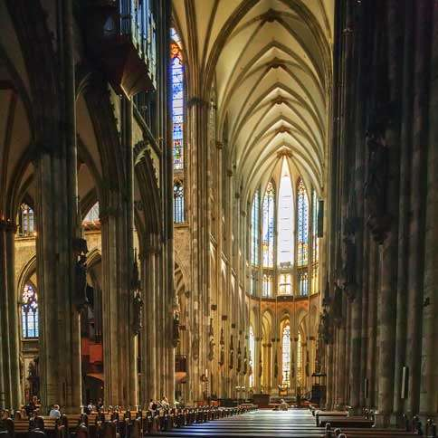 Guideposts: The inspiring space that is the interior of the Cologne Cathedral