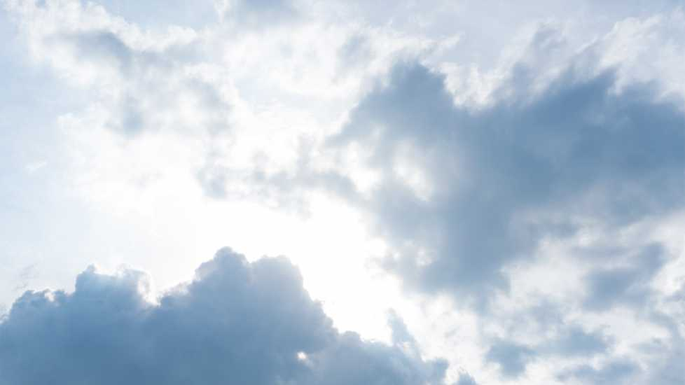 Spiritual Dream Symbols: Weather. Heavenly light shines through white, fluffy clouds. inspiration miracles