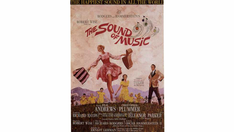 The Sound of Music, 1965, 1960s, USA. FOR EDITORIAL USE ONLY/NO MERCHANDISING/NO ALTERATION.