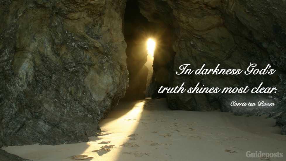 """In darkness God's truth shines most clear."""