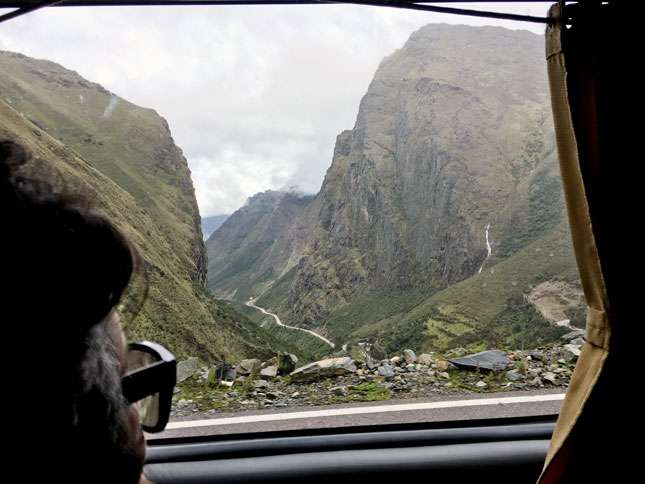 Katie Hogin on the journey from Cuzco to Machu Picchu