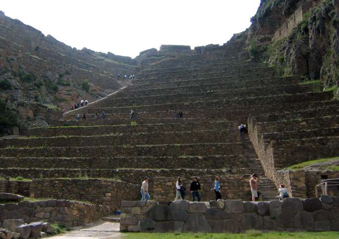 Ollantaytambo was the last major town Adam visited before embarking on the Inca trail.