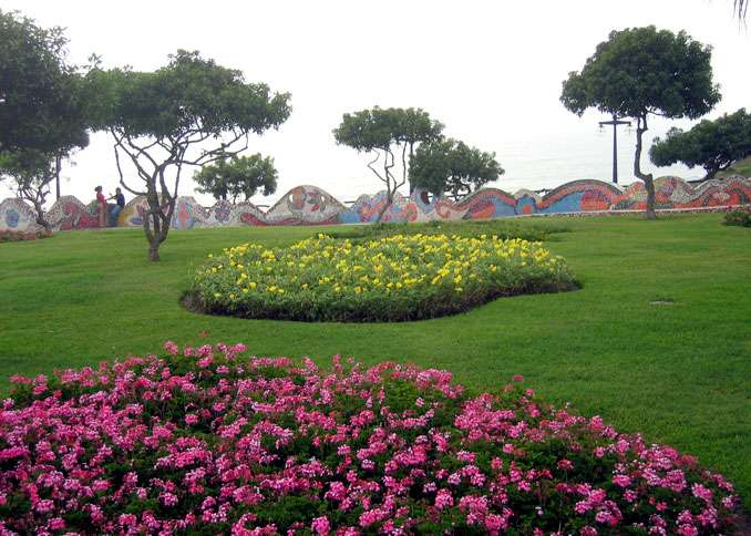 The Parque del Amor, a hidden gem in the Miraflores district of Lima, Peru's capital city