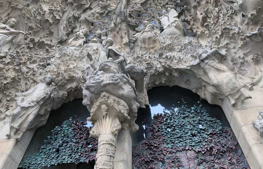 La Sagrada Familia in Spain