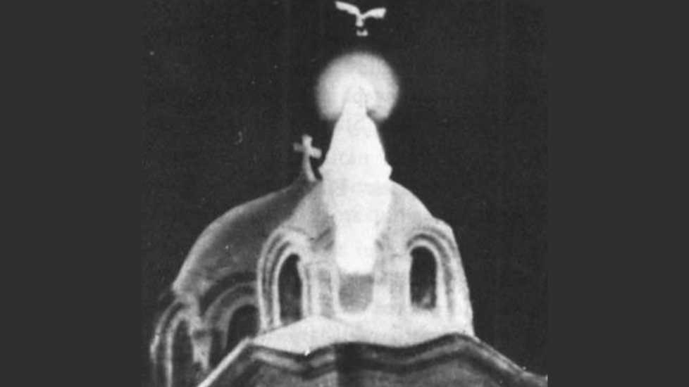 Photo of Mary apparition from magazine story