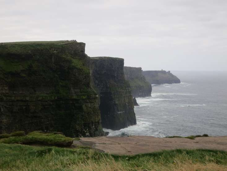 Cliffs of Moher in County Clare on the edge of Ireland