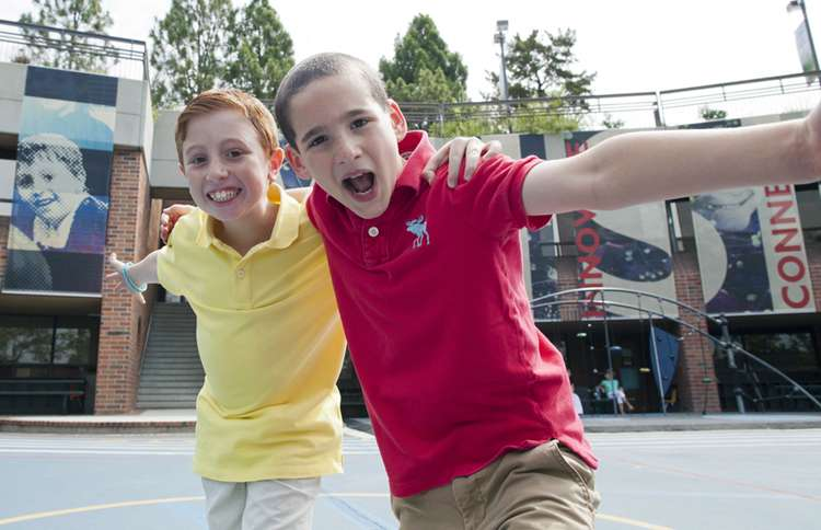 Guideposts: Jonah and Dylan celebrate the book's success.