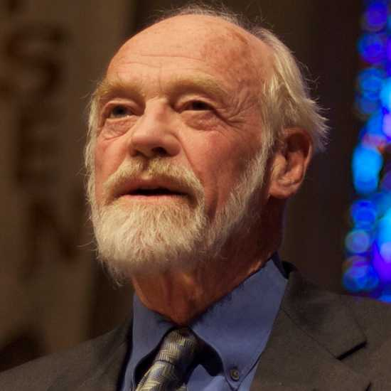 Pastor and author Eugene Peterson
