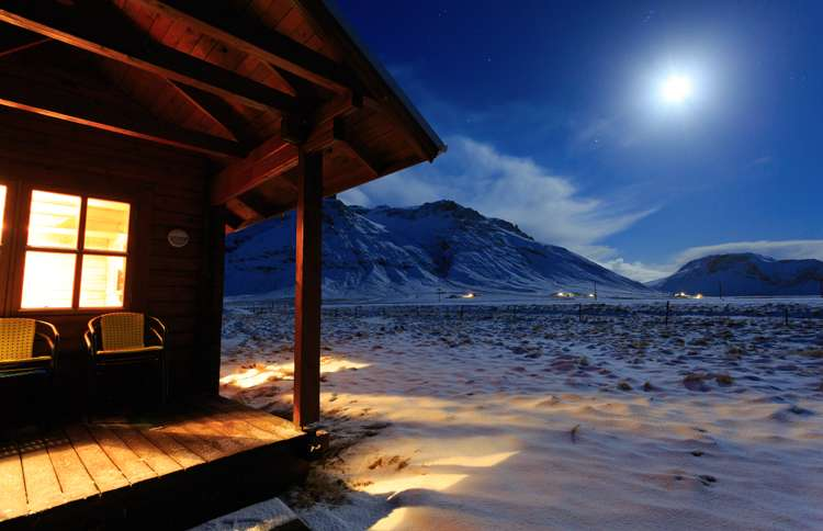Guideposts: Moonlight on the freshly fallen snow