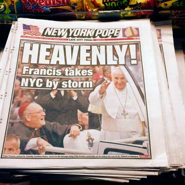 Guideposts: New York Post, Pope Francis, New York City