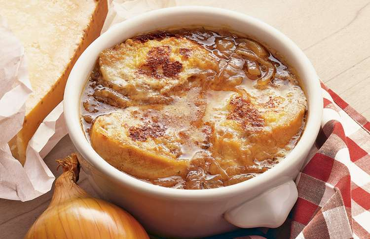 Guideposts: Hearty French Onion Soup