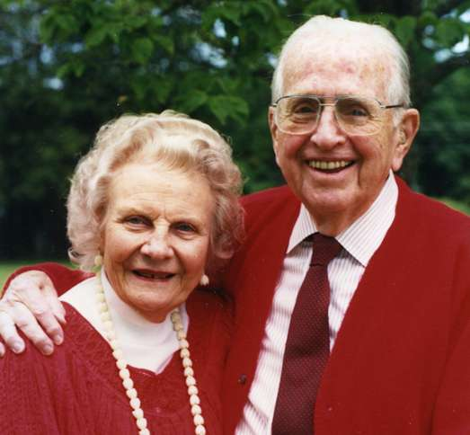 Norman Vincent and Ruth Peale