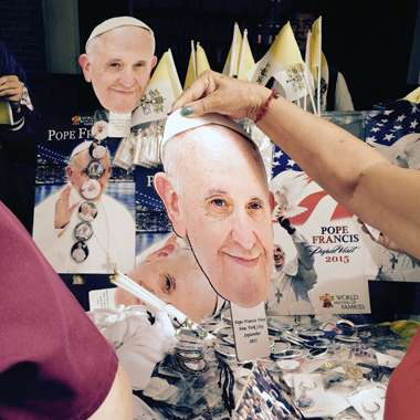 Guideposts: Souvenirs of Pope Francis' visit to New  York City