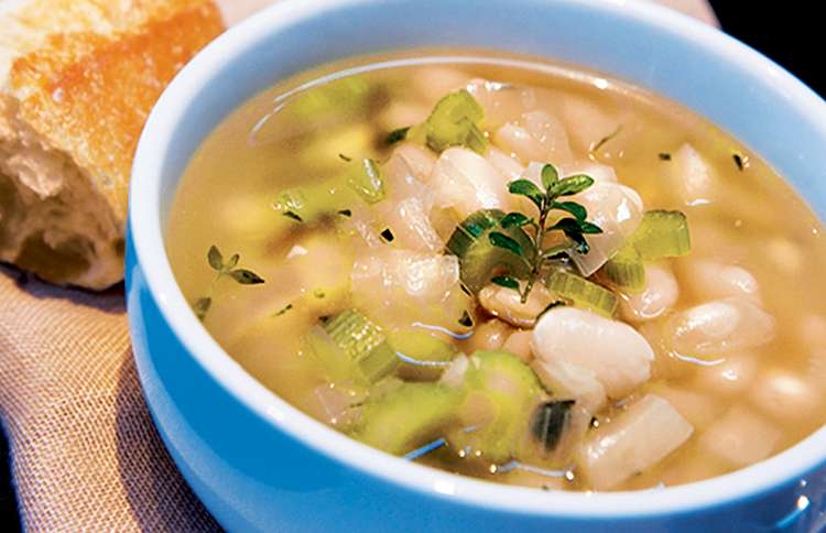 Guideposts: Rebecca Katz's Tuscan White Bean Soup