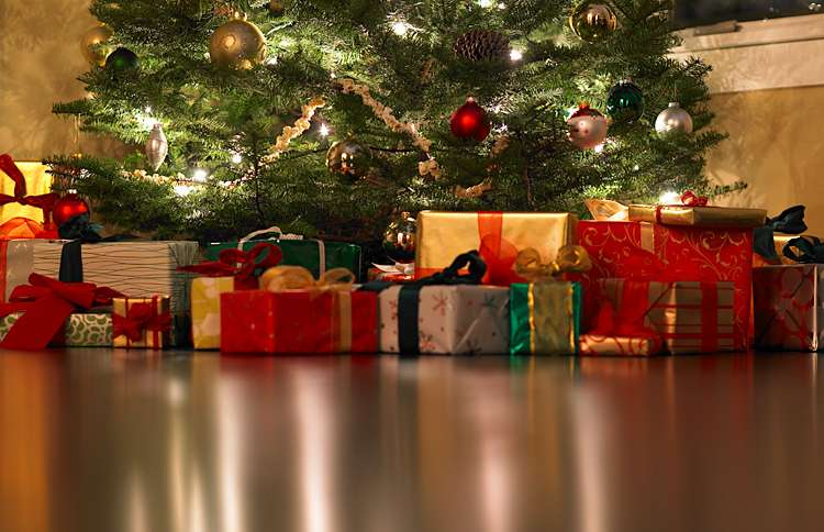 Guideposts: Unopened presents under the Christmas tree