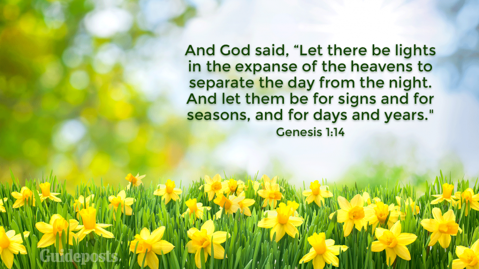 7 Bible Verses About Spring