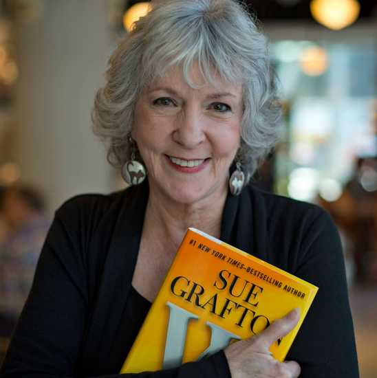 Bestselling author Sue Grafton