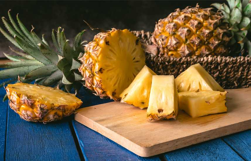 Healthy Summer Fruits to Add to Your Diet: Pineapple are a sweet and tangy summer fruit favorite. better living health wellness