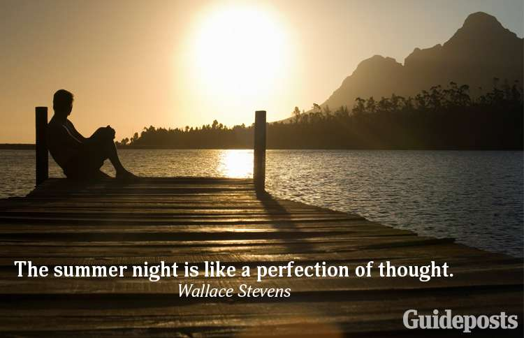A summer quote from Wallace Stevens
