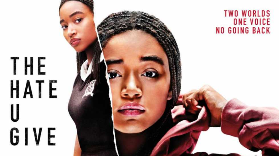"Poster for ""The Hate U Give"""