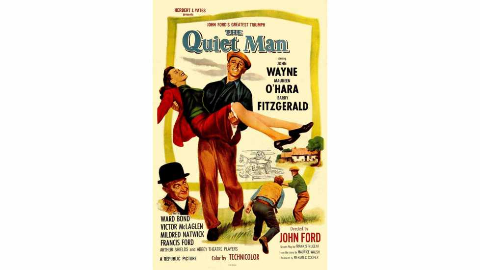 Film poster for The Quiet Man (1952)