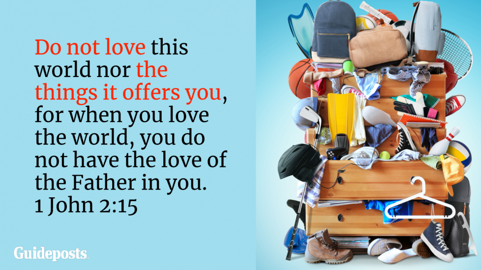 Bible Verses to Help You Declutter | Guideposts