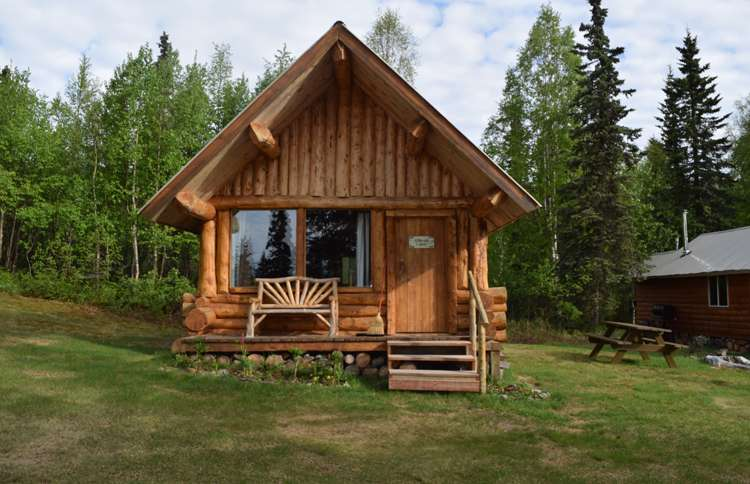 Winterlake Lodge Cabin, outside of Anchorage, Alaska