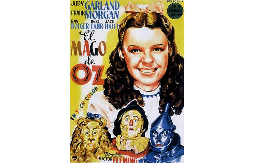 Film poster of Wizard of Oz (1939)