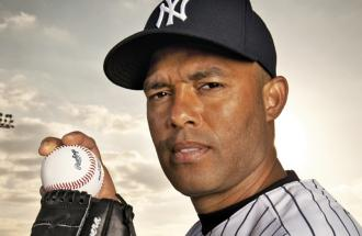 Yankee great and future Hall of Famer Mariano Rivera
