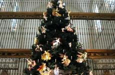 Christmas Angel Tree at the Metropolitan Museum in NYC