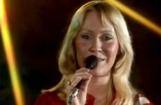 "ABBA's Agnetha Faltskog performs ""Thank You for the Music"""