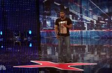 "Travis Pratt auditions for ""America's Got Talent"""