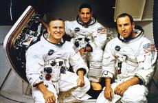 Apollo 8 Crew (L to R): Frank Borman, William Anders and James Lovell