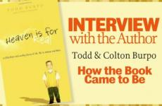 Todd Burpo talks about his son's afterlife experience and the book they wrote.
