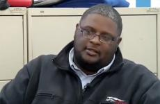 Heroic bus driver Darnell Barton