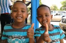 Two of the young children served by Cactus Nazarene Ministry Center