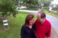 Houston resident Charlie George and his wife