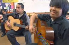 Californ teens learn music thanks to the efforts of an area software engineer