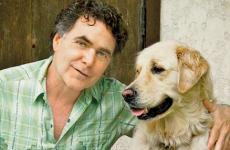 Guideposts editor-in-chief Edward Grinnan with his dog Millie