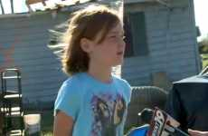 Eight-year-old Emily tells of her encounter with a mysterious stranger.