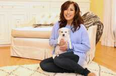 Carrie Ann Inaba with her pal Lola