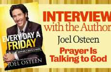 Joel Osteen - Prayer Is Talking To God
