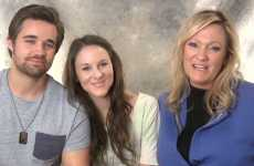 Author Karen Kingsbury with her daughter and son-in-law