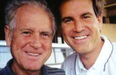 Sportscaster Jim Nantz and his father