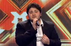 "Mher Balian performs on ""The X Factor: Australia."""