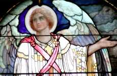 The Heavenly Hope angel from the Book of Revelation