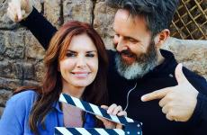 Roma Downey and husband Mark Burnett